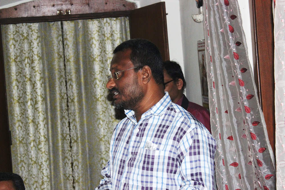 Rev Fr Roy Kochuparambil - Reg Director n Commission Sec (Odisha) our MC