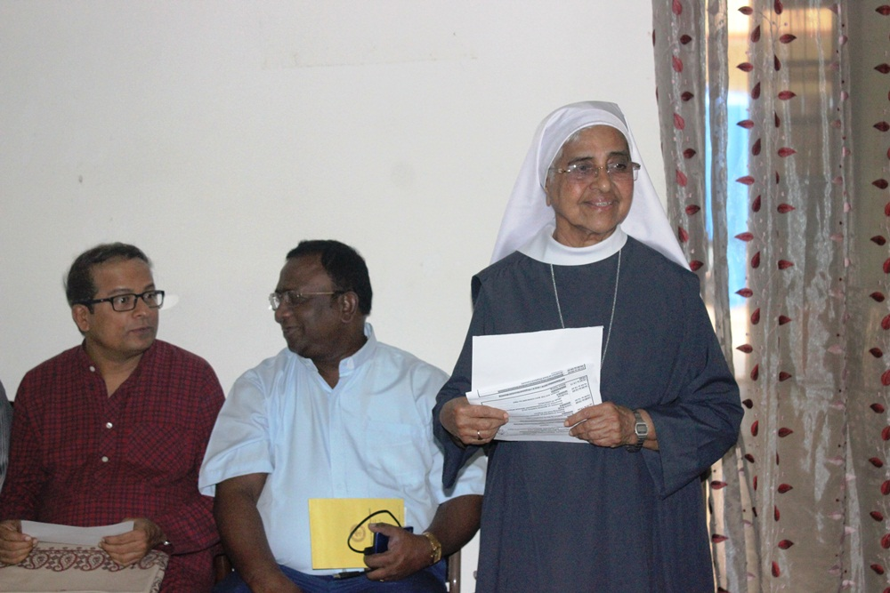 9 Rev Sr Laurencia Lobo, Staff PMO INDIA Thanku n Welcome